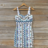 Winter Lake Beaded Dress: Alternate View #1