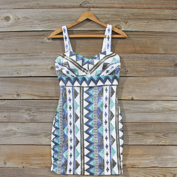 Winter Lake Beaded Dress: Featured Product Image