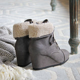 Winter Maiden Booties: Alternate View #3