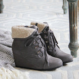 Winter Maiden Booties: Alternate View #1