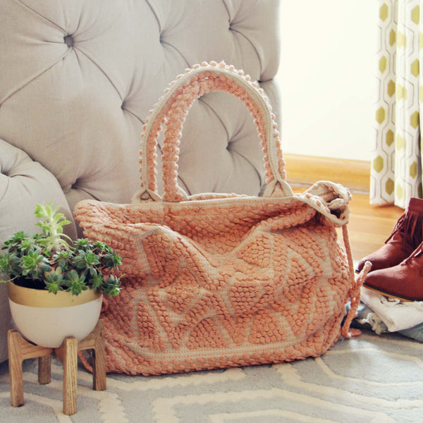 Winter Peach Tote: Featured Product Image