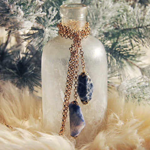 Winter Stone Necklace