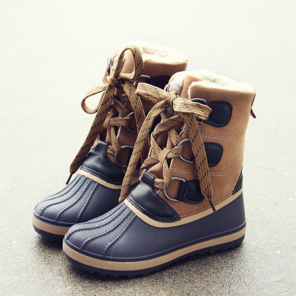 Winter Tie Duck Boot: Featured Product Image