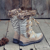 Winter Wonderland Snow Boots: Alternate View #4