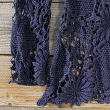 Winterly Lace Blouse in Navy: Alternate View #3