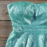 Wishing Star Party Dress in Mint: Alternate View #2