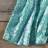 Wishing Star Party Dress in Mint: Alternate View #3