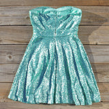 Wishing Star Party Dress in Mint: Alternate View #4