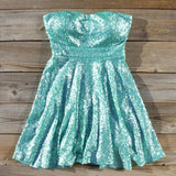 Wishing Star Party Dress in Mint: Alternate View #1