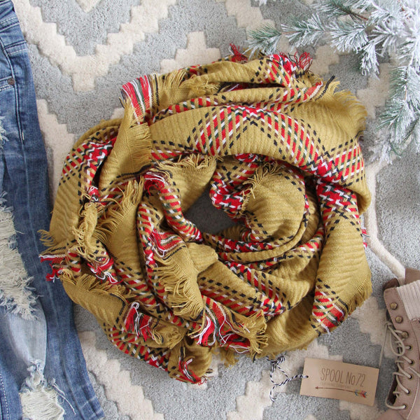 Wolf Creek Scarf in Mustard: Featured Product Image