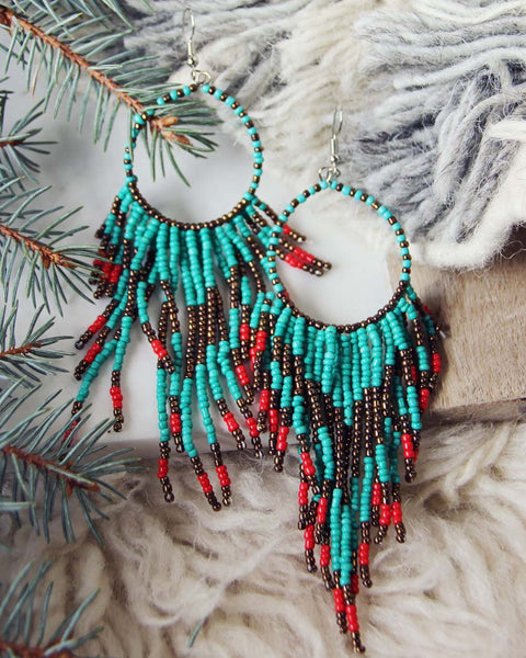 Wolf Mountain Earrings: Featured Product Image