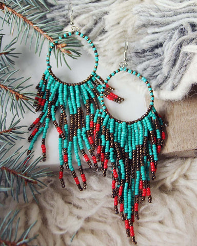 Wolf Mountain Earrings