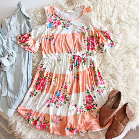 Wooded Rose Dress