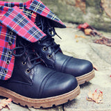 The Woodland Plaid Boots: Alternate View #2