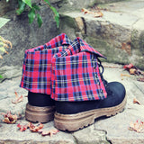 The Woodland Plaid Boots: Alternate View #3