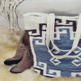 Woodside Kilim Tote: Alternate View #2