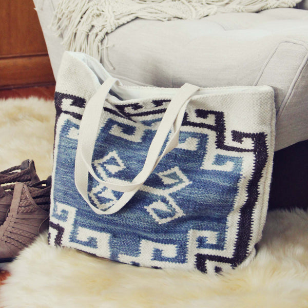 Woodside Kilim Tote: Featured Product Image