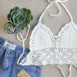 The Woodstock Crochet Top (wholesale): Alternate View #2