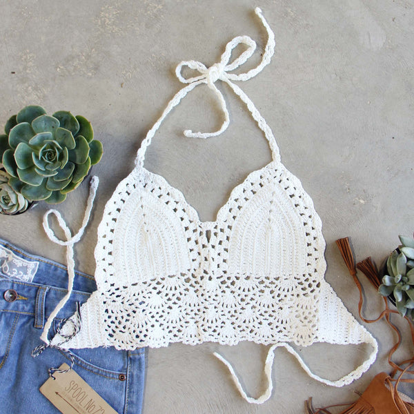 The Woodstock Crochet Top: Featured Product Image