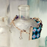Woven Dreams Bracelet in Blue: Alternate View #2