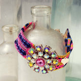 Woven Dreams Bracelet in Pink: Alternate View #1