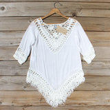 Woven Whites Tunic: Alternate View #4
