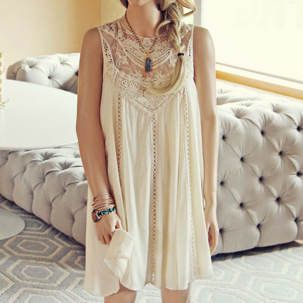 Lace Gypsy Dress: Featured Product Image