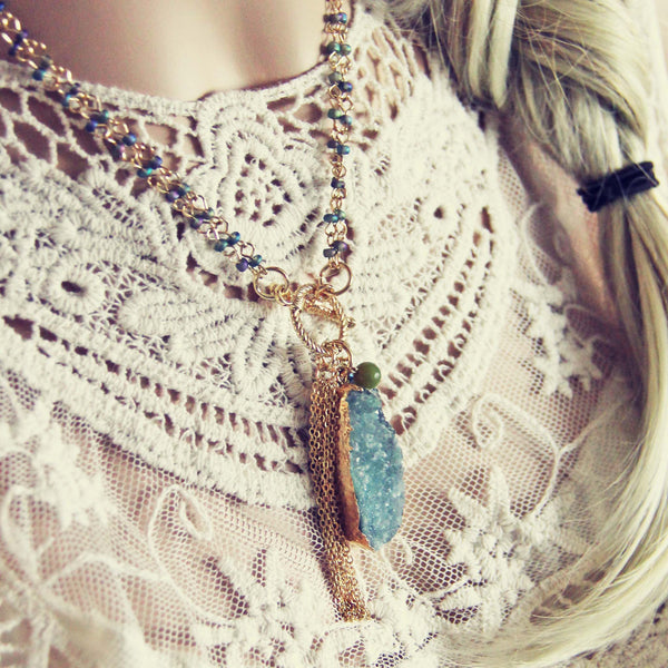 Wren & Stone Necklace: Featured Product Image