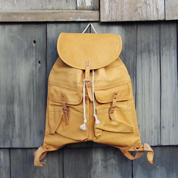 Wyoming Sky Vintage Backpack: Featured Product Image