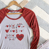 X = Love Tee: Alternate View #2