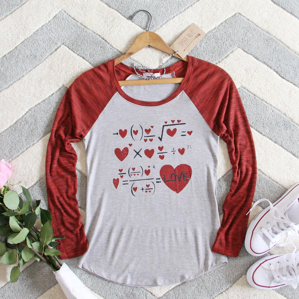 X = Love Tee: Featured Product Image