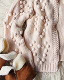 Xoxo Sweater in Softest Pink: Alternate View #4