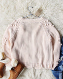 Xoxo Sweater in Softest Pink: Alternate View #5