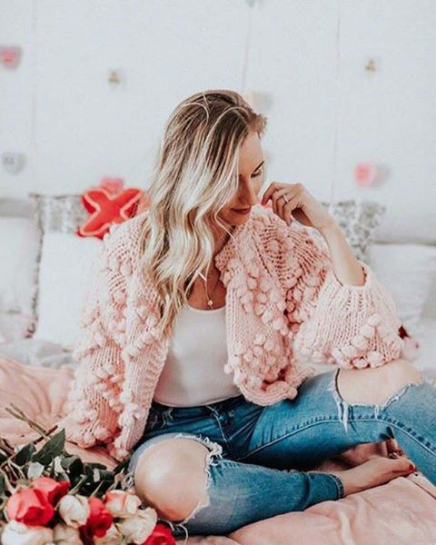 Xoxo Sweater in Softest Pink: Featured Product Image