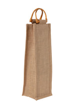 Load image into Gallery viewer, JB2105 - 1 Bottle Jute Bag