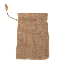 Load image into Gallery viewer, JB3505 - Jute Drawstring Pouch Small - 18 x 12 cm