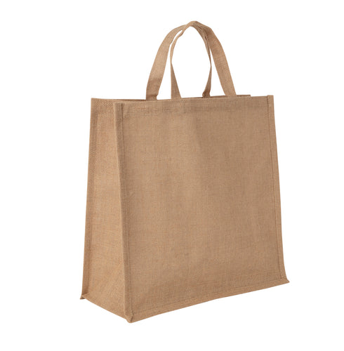 JB6020 - Jute Large Carry Bag - Natural / Natural