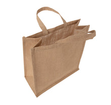 Load image into Gallery viewer, JB6020 - Jute Large Carry Bag - Natural / Natural