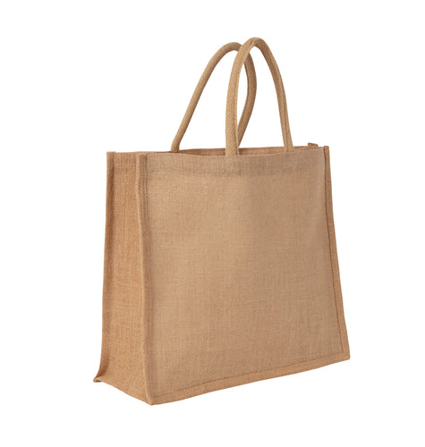 JB6132 - Jute UK Carry Bag Luxury Handle