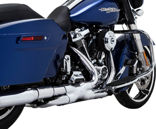 VANCE & HINES CHROME POWER DUALS HEADER SYSTEM (1802-0362) - St Paul Harley-Davidson Parts & MotorClothes