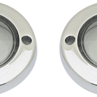 Custom Dynamics PROBEAM FLAT BEZEL TURN SIGNAL ADAPTERS CHROME/SMOKE LENS (2020-1585) - St Paul Harley-Davidson Parts & MotorClothes