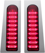 CUSTOM DYNAMICS RED PROBEAM® FILLERZ® SADDLEBAG LED LIGHTS (2040-2157) - St Paul Harley-Davidson Parts & MotorClothes