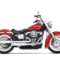 3.5″ SLIP-ON EXHAUST FOR HARLEY SOFTAIL CHROME/CHROME (500-1210C)
