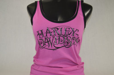 HD INSET HARLEY-DAVIDSON LADIES SCOOP TANK