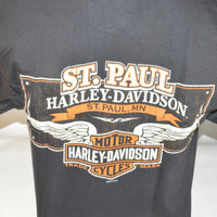 """OLD SHOP""  HARLEY-DAVIDSON TEE - St Paul Harley-Davidson Parts & MotorClothes"