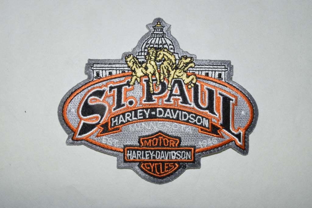 ST. PAUL HARLEY DAVIDSON PATCH - St Paul Harley-Davidson Parts & MotorClothes