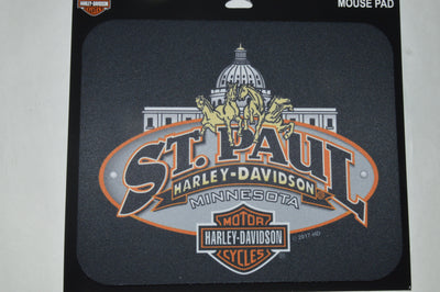 ST. PAUL HARLEY DAVIDSON MOUSE PAD - St Paul Harley-Davidson Parts & MotorClothes