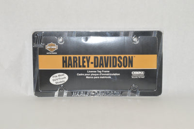 HARLEY-DAVIDSON DARK CUSTOM LICENSE PLATE FRAME - St Paul Harley-Davidson Parts & MotorClothes