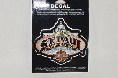 ST. PAUL HARLEY-DAVIDSON DECAL - St Paul Harley-Davidson Parts & MotorClothes