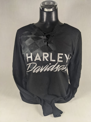 SHINY CHROME ST. PAUL HARLEY-DAVIDSON LONG SLEEVE